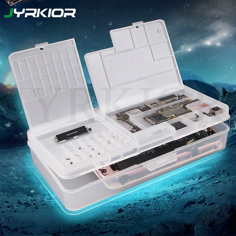 SUNSHINE SS-001A Multi-function Magic Box Mobile Phone LCD Screen Mainboard IC Component Plastic Organization Storage Box