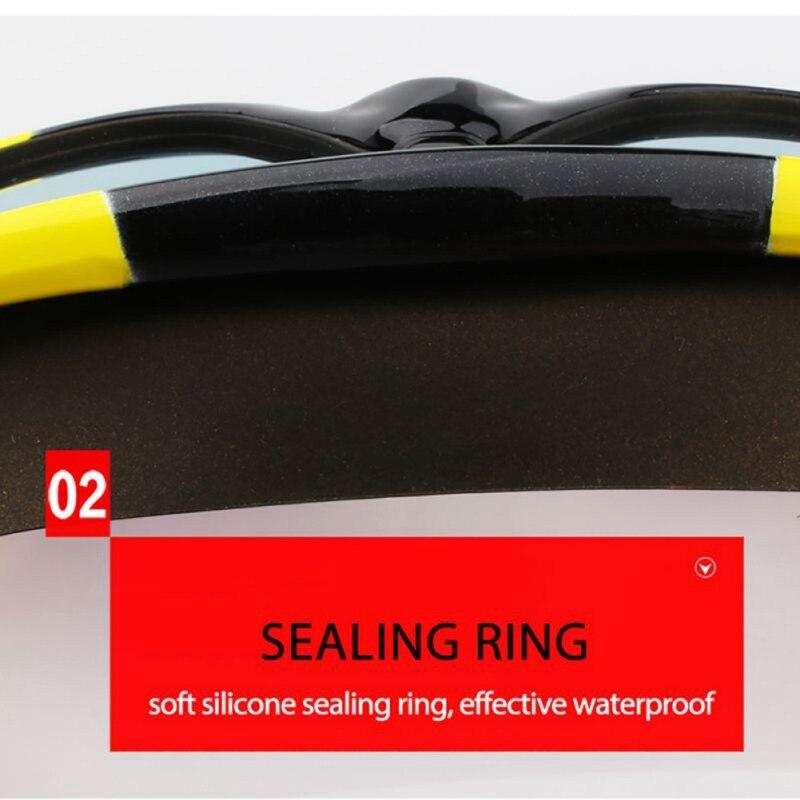 Очки для плавания ming, для мужчин и женщин, спортивные, профессиональные, анти-туман, защита от ультрафиолета, водостойкие, регулируемые, очки для плавания