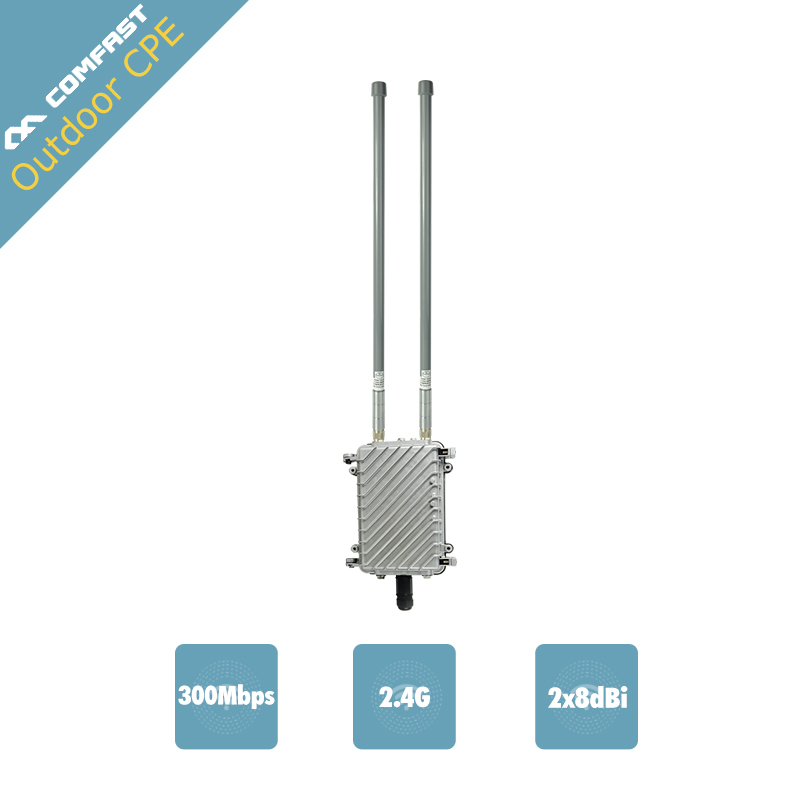 HIGH POWER Outdoor AP Router Comfast CF-WA700 500W Engineering Signal Amplifier WiFi Repeater Signal Booster omnidirectional CPE