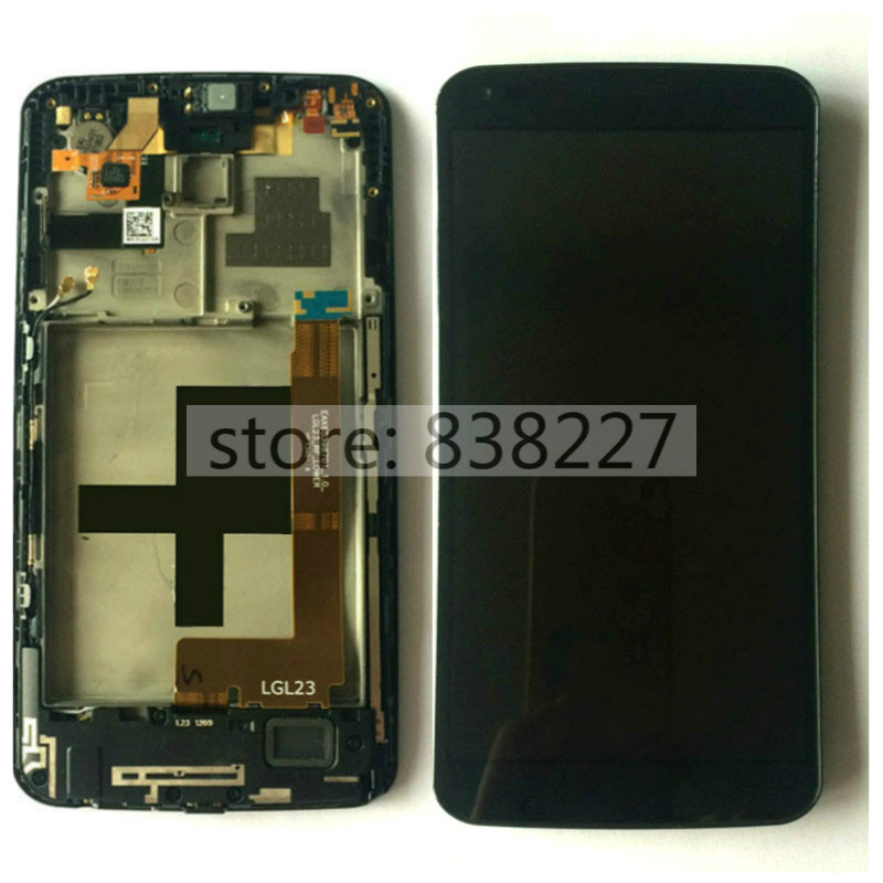 For LG G Flex D950 D955 complete LCD Display Touch Screen Digitizer with frame repair Replacement for LG D958 D959 F340 LS995