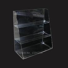 Прозрачный 3 Ярус акриловый Подставка для ювелирных браслетов