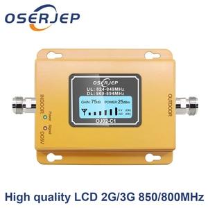 Image 1 - CDMA Repeater 850 MHz 70dB LCD 2G 3G 850 MHz UMTS GSM CDMA โทรศัพท์มือถือสัญญาณ Repeater Booster โทรศัพท์มือถือสัญญาณ CDMA