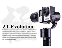 Free EMS DHL Zhiyun Evolution Z1 EVOLUTION 3 Axis Handheld Brushless Camera Gimbal For Gopro 3