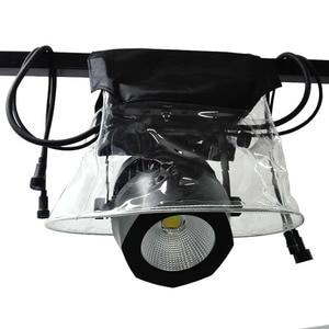 Image 1 - 4 szt. Światło sceniczne chroni pokrowiec przeciwdeszczowy wodoodporny płaszcz przeciwdeszczowy płaszcz na śnieg pokaz na zewnątrz dla 5R 7R lampa LED z ruchomą głowicą