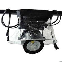 4pcs 무대 조명 보호 레인 커버 방수 비옷 스노우 코트 야외 쇼 5R 7R 빔 LED 이동 헤드 라이트