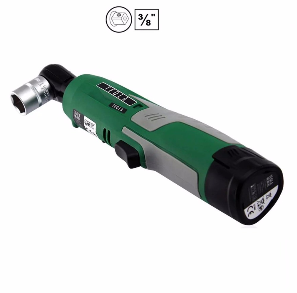Lithium Ion Car Battery >> 3/8'' Rechargeable Electric Cordless Angle Power Ratchet Wrench 2457 21 Cordless M12 Lithium Ion ...