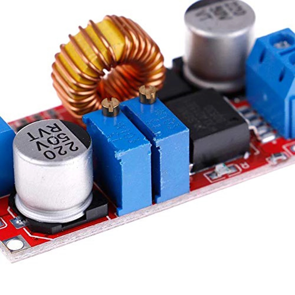 Image 5 - Original XL4015 E1 5A DC to DC CC CV Lithium Battery Step down Charging Board Led Power Converter Lithium Charger Module-in Integrated Circuits from Electronic Components & Supplies