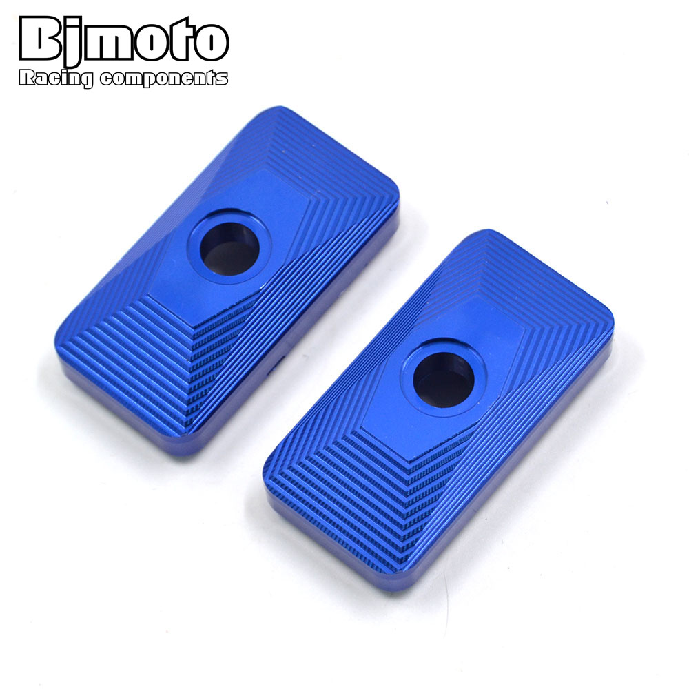 BJMOTO For Yamaha YZF R3 2015-2017 R3 ABS 2017 R25 2013-2017 CNC Rear Axle Spindle Chain Adjuster Blocks Motorcycle Parts