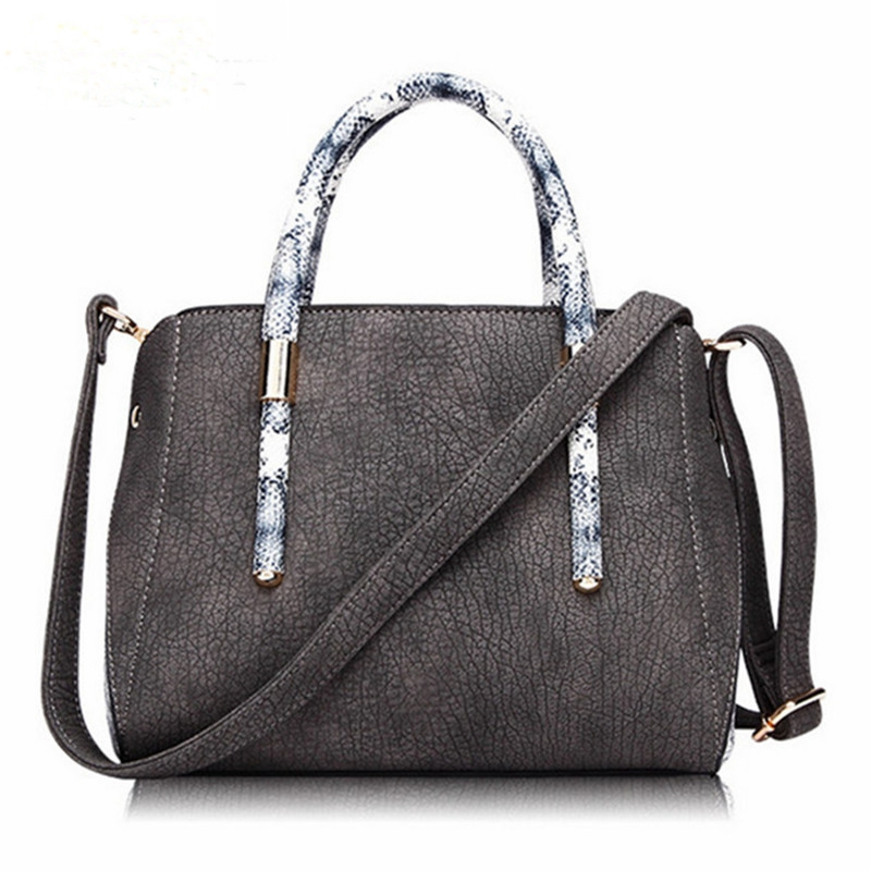 2016 New Women Fashion Bag Top PU Leather Handbag Shoulder New Arrival Crossbody Luxury Ladies Black Casual Tote Famous Brand free shipping new fashion brand women s single shoulder bag ladies handbag top pu leather wholesale price 100