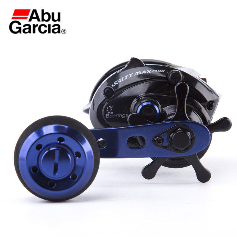Abu Garcia Salty Max Plus LP Bait Casting Fishing Reel With Independent Casting Switch Lure Fishing Water Drop Wheel Tackle Tool катушка abu garcia max toro 51 left lp