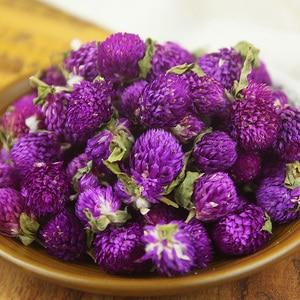 Purple Gomphrena globosa buds naturally Dried flower, Pressed Flowers DIY birthday/Christmas/ office decoration accessories 20PC(China)