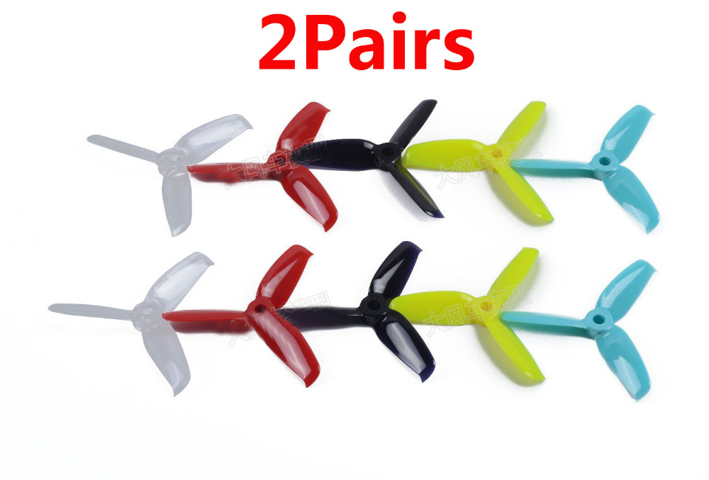 2Pairs 3 Inch <font><b>3052</b></font> Original Gemfan High Speed Props FPV Racing Drone 3-Blade CW/CCW Quadcopter Props Propeller DIY Parts image