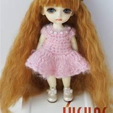 JD098 1/8 синтетический, мохеровый, для куклы парики довольно парик собазу 5-6 дюймов милые куклы аксессуары различных цветов