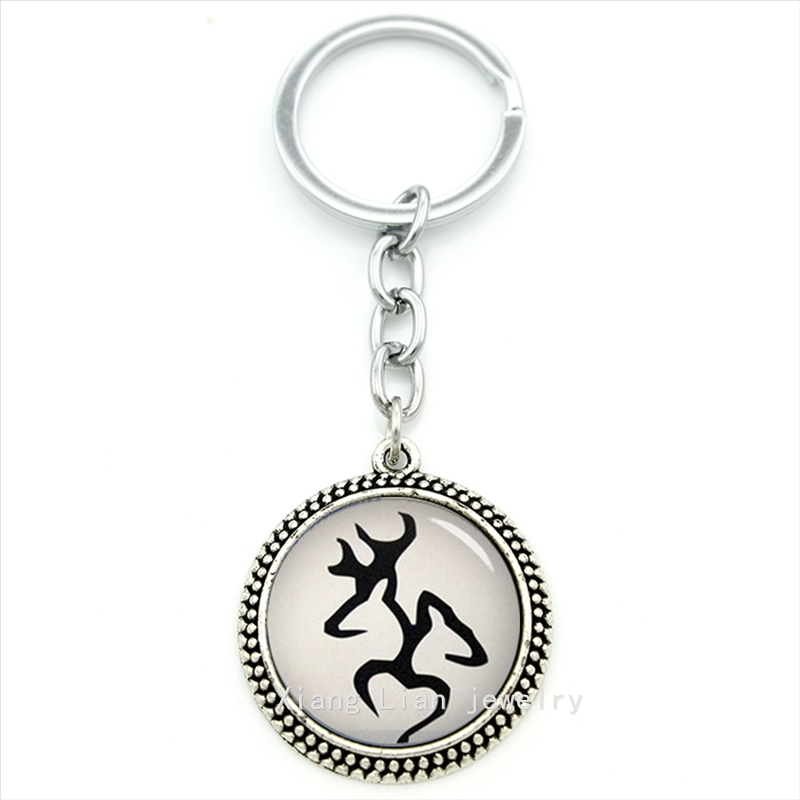 Most Popular Womens Gifts 2016 Part - 21: 2016 The Most Popular Fashion Animal Keychain Male Deer And Female Deer  Buck U0026 Doe Art Pendant Ring Jewelry Men,women Gift T449