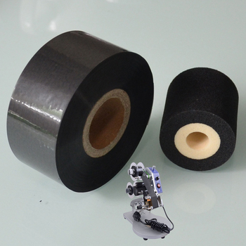Black Width 35mm length 120M hot stamping printing foil on Medical industry