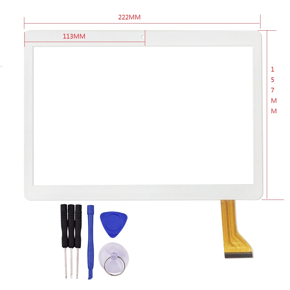 9.6 inch Touch Screen for DH-1069A4-PG-FPC264-V1.0 FHX FHF096-001 MJK-0419-FPC GT10PG157 MJK-0427-FPC Glass Panel for 9inch tablet pc touch screen dh 0926a1 pg fpc080 v3 0 rx12t 23 fhx touch screen capacitance screen qc900