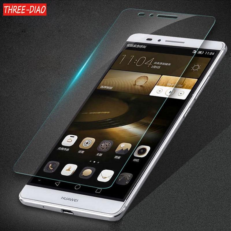 2pcs/lot Tempered Glass For Huawei P8 P9 P10 P20 Lite Pro 2017 Honor 7 8 9 10 Lite 3X 4X 5X 6X 7X 3C 4A 4C 5C Premium Protective