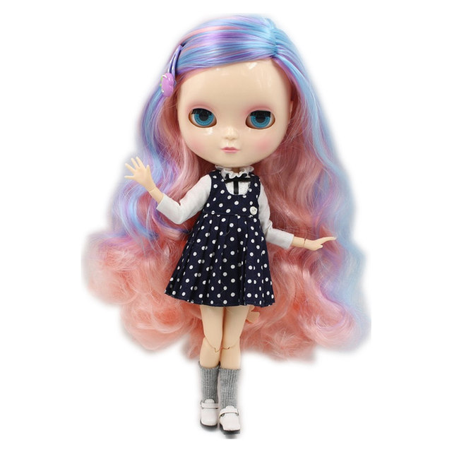 ICY Nude Doll 1/6 Joint Body Suitable for DIY 4 Eyes Color Different Type Toy Gifts Free Shipping