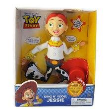 La historia del juguete hablando Woody muñecos de acción Jessie juguete de  aprendizaje de la historia e9a1e7aa7c6