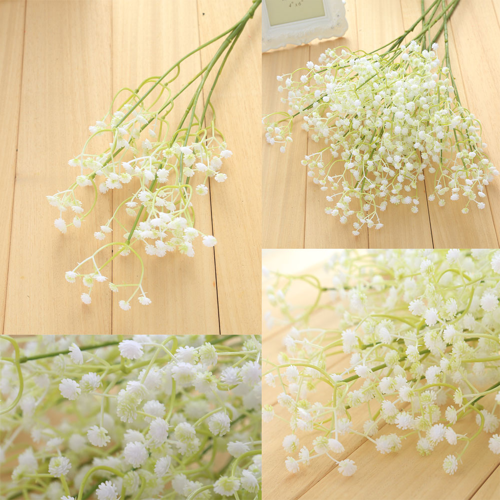 ᗑhot sale Gypsophila Breath Plant Home Wedding Decor Silk ...