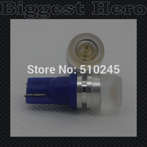 100X wholesale promotion car led W5W 194 192 168 T10 1.5W High Power lens projector clearance light bulb free shipping