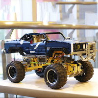HOT SALE 4x4 Crawler Exclusive Edition Building Bricks Blocks Pickup Toy Compatible Lepins For Children Boys