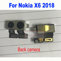 LTPro High Quality Big Rear Back Camera For Nokia X6 2018 Phone Main Camera with flex cable Replacement Parts