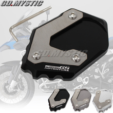 R1200 GS Motorcycle accessoris CNC Aluminum Kickstand Side Stand Pad For BMW R1200GS 2015-2016