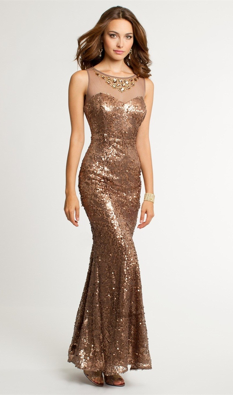 Compare Prices on Gold Sequin Prom Dresses- Online Shopping/Buy ...