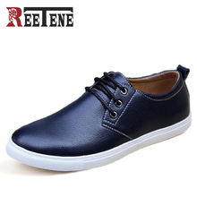 Fashion Sport Shoes Men High Quality PU Leather Casual Shoes Men 90 Oxfords Men Shoes 2016 New Brand Men Falts Zapatos Casuales