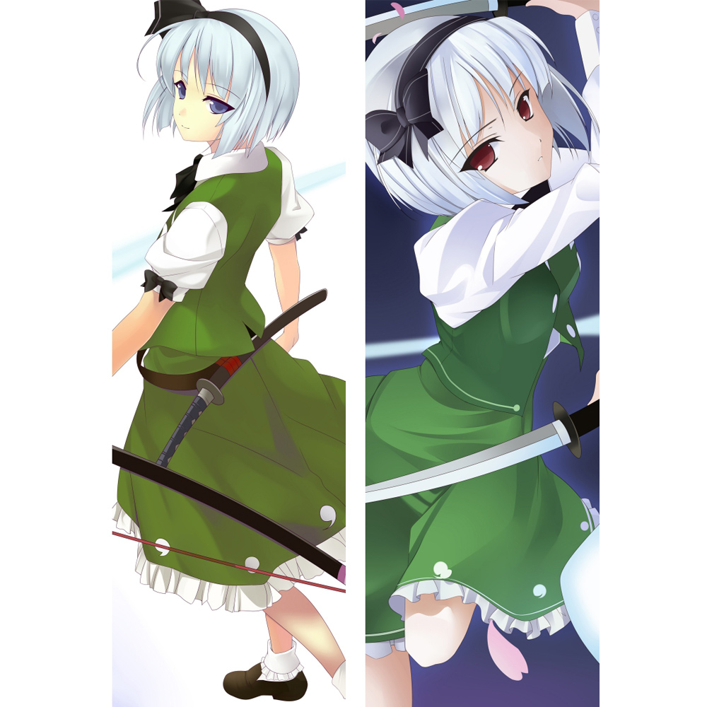 Touhou Project Dakimakura Iku Nagae Anime Girl Hugging Body Pillow Case Covers