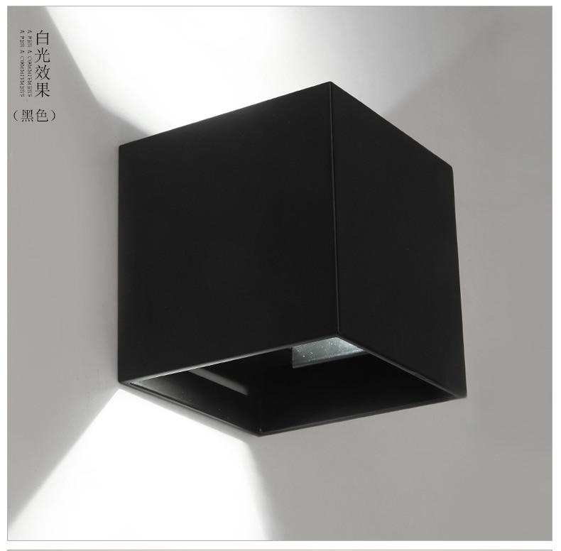 12 teile / los Dimmbare LED Wandleuchten 8 Watt LED Außenwandleuchte - Innenbeleuchtung