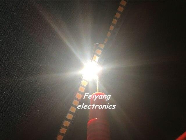 100pcs 3528 SMD LED white /warm white 1210 3528 SMD LED Ultra Bright White Light Diode
