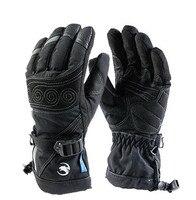 ICESNAKE Winter Windproof Waterproof Motorcycle Gloves Motorcross Riding Gloves Snowboard Skiing Warm Gloves Luvas