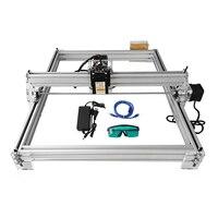 dc 12v חיתוך לייזר מיני Eastshape 40x50cm DC שולחניים DIY 300-5500mw 12V / חריטה חרט מכונת CNC קאטר 1600MW מדפסת (1)