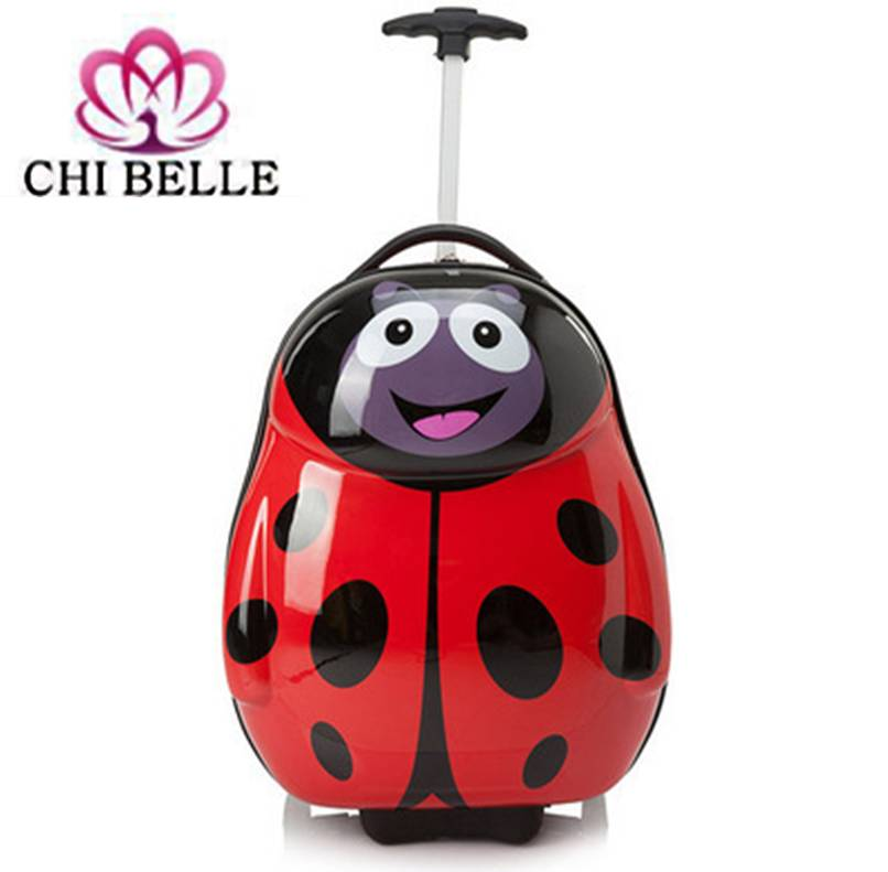 Children's cartoon cute eggshell luggage suitcase 16-inch pupil levers of single rod luggage bag