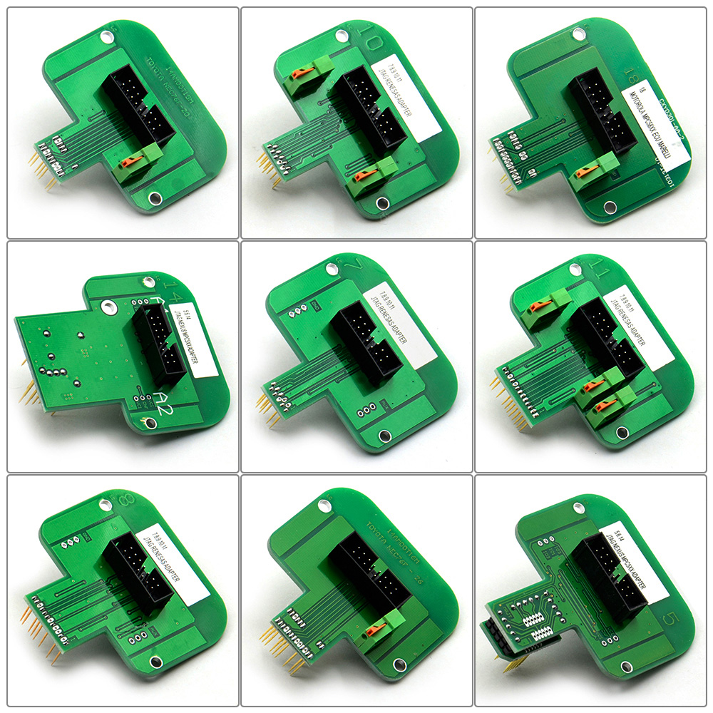 Image 2 - 22pcs BDM Probe Adapters ECU RAMP For KESS KTAG BDM100 / CMD100 / FGTECH V54 Led BDM Frame Full Set ECU Programmer Free Shipping-in Car Diagnostic Cables & Connectors from Automobiles & Motorcycles