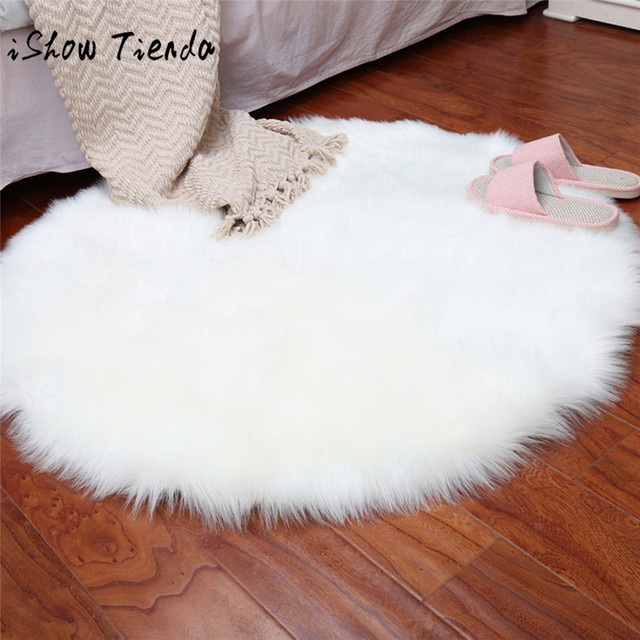 US 28 OFF Soft Artificial Sheepskin Rug Chair Cover Artificial Wool Warm Hairy Carpet Seat Badroom Set Carpet Stripes Rug Floor Carpet In