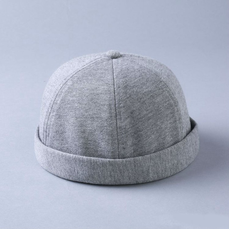 Hat Beanie-Hat Beret-Cap Adjustable Cotton Summer Man Landlord 55-62cm Hip-Hop-Hat Big-Head
