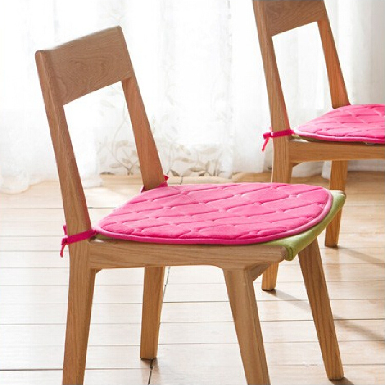 Thick warm flannel cushion dining chair cushions office computer students  tatami mats 39x42cm China  Compare Prices on Dining Chair Cushion  Online Shopping Buy Low  . Pink Dining Chair Cushions. Home Design Ideas