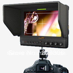 LILLIPUT 663/P2 7 IPS LED field HDMI monitor with advanced functions for DSLR full HD camcorder HDMI monitor with YPbPr input