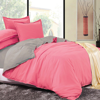 LILIYA New Bedding Set Warm Bedding Sets By Solid Color Pillow Case Sheet Quilt Cover S