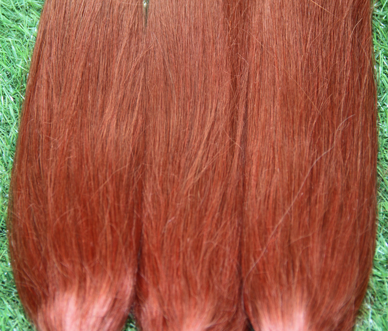 Best quality brazilian pre bonded keratin stick tip hair i tip best quality brazilian pre bonded keratin stick tip hair i tip human hair extensions 350 bright red copper color 100spack in fusion hair extensions from pmusecretfo Image collections