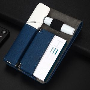 Image 1 - Fashion Leather Portable Mini Case For IQOS 3 Bag IQOS 3.0 Multi Protective Cigarette Case Cover For IQOS 3.0 Multi Carrying Bag
