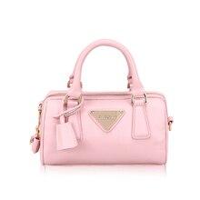 Fashion Boston Bag Trendy Barrel Shaped Women font b Handbag b font Stylish Designer PU Leather