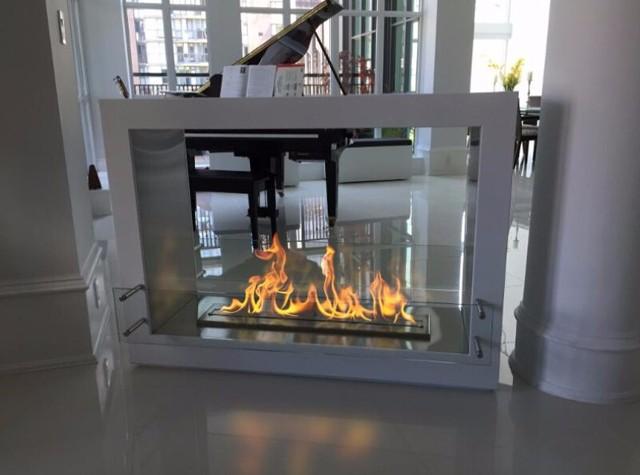 Elegant On Sale 18u0027u0027 Smart Ethanol Fireplace With Remote Control Wall Insert