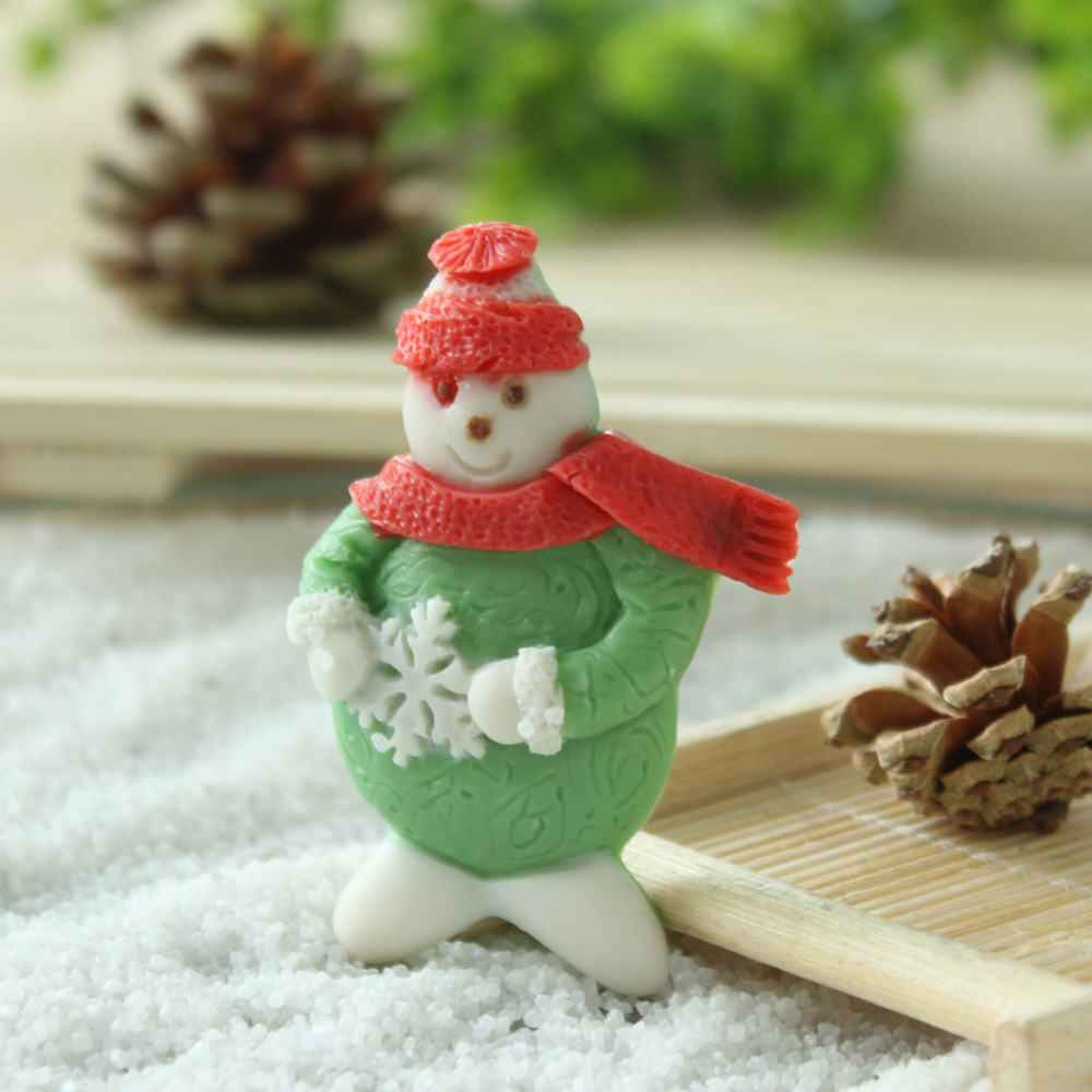 ٩(^‿^)۶Envío Gratis Nicole f0865 frosty el muñeco de nieve silicona ...