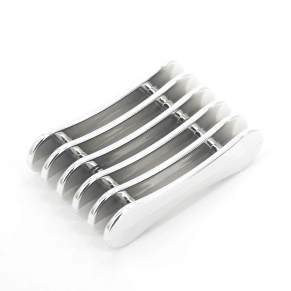 5 กริด Nail Art ปากกาเล็บ Salon แปรง Rack อุปกรณ์เสริมแกะสลัก UV เจลปากกาคริสตัล Carrier Storage เครื่องมือทำเล็บมือ stand Holder