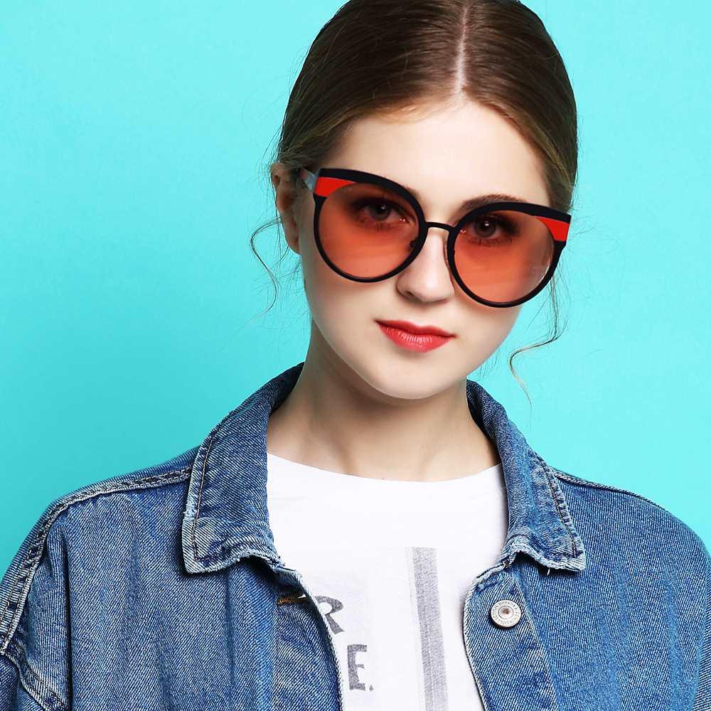 2018 à la main de haute qualité polarisé Anti-réfléchissant lunettes de soleil oeil de chat confortable lunettes de soleil femmes fille luxe lunettes de soleil