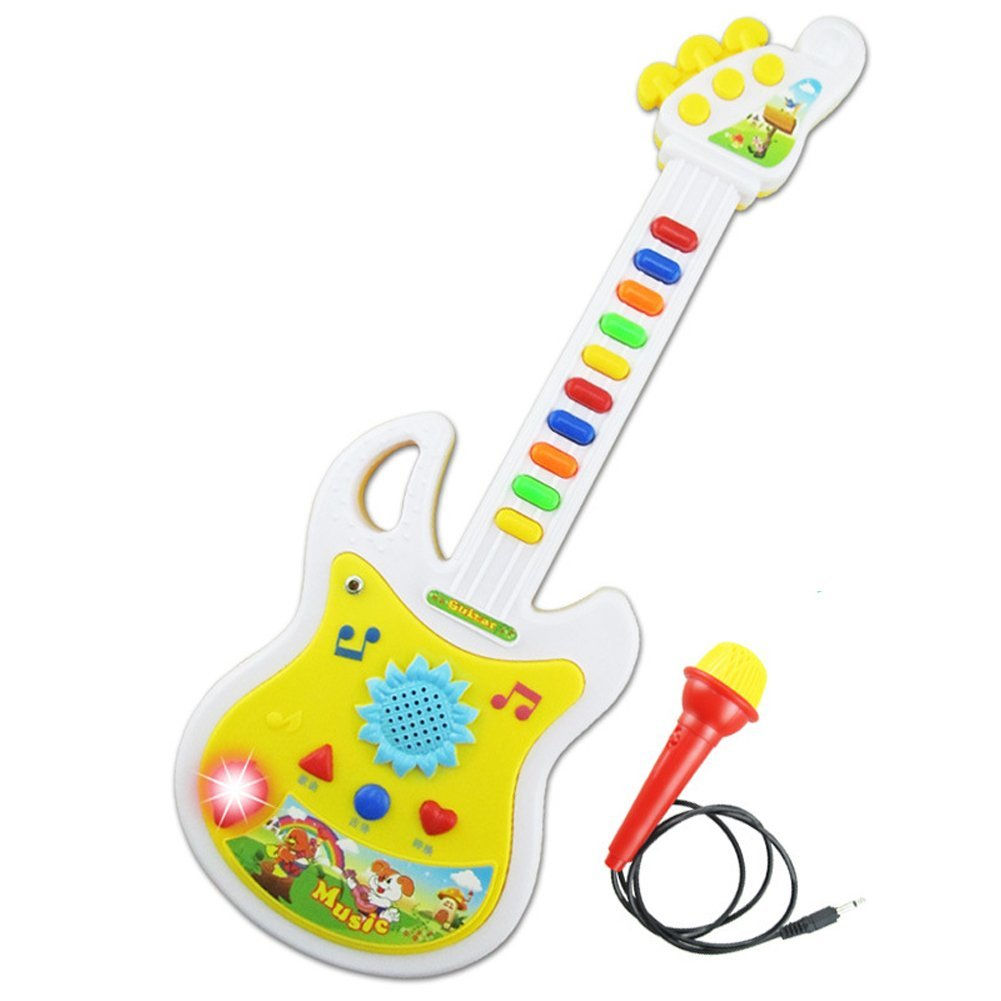 Electronic Educational Toys : Electronic guitar music instrument educational toy kid